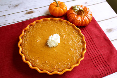 Crustless Classic Pumpkin Pie