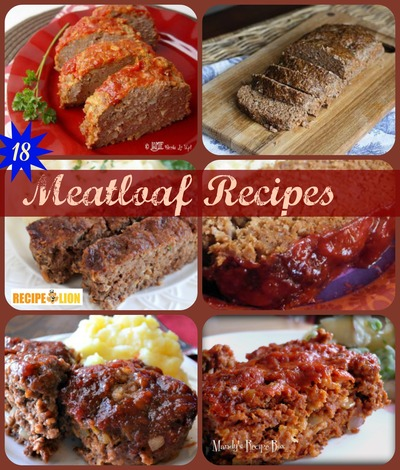 our most unique meatloaf recipes cheesy taco meat loaf shown at top it ...