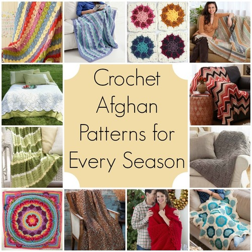Cozy! 20+ Fabulous Fall-Inspired Crochet Afghan Patterns - Stitch ...
