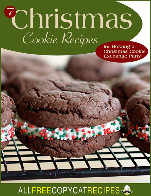 7 Christmas Cookie Recipes for Hosting a Christmas Cookie Exchange Party eCookbook