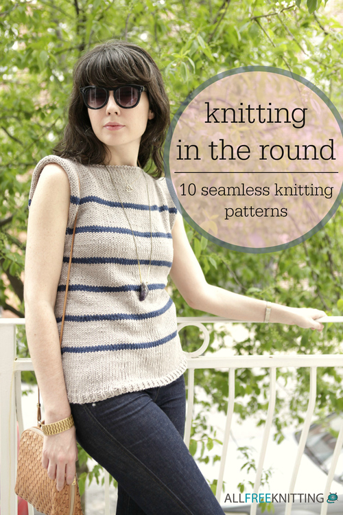 Knitting In The Round : Knitting in the round seamless patterns