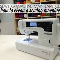 Sewing Machine Maintenance: How to Clean a Sewing Machine