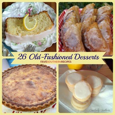 Old-Fashioned Desserts
