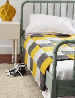 Stellar Patchwork Crochet Blanket ...