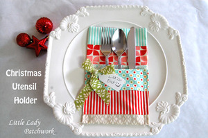 Christmas Utensil Holders