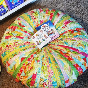 Jammin Jelly Roll Floor Cushion