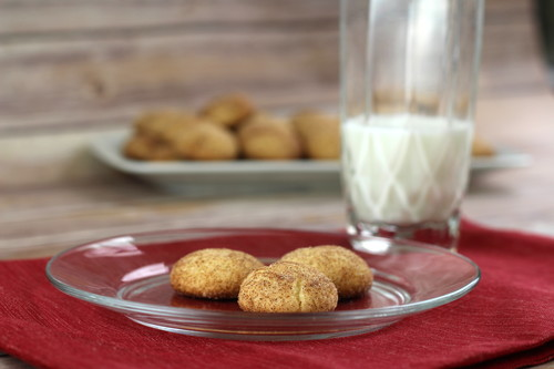 New Recipe: Crazy Simple Cake Mix Snickerdoodles
