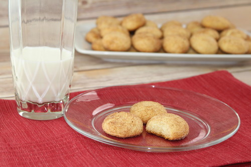 Crazy Simple Cake Mix Snickerdoodles