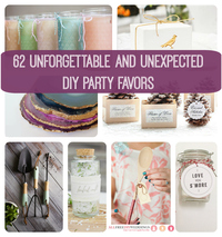 Unforgettable and Unexpected DIY Party Favors
