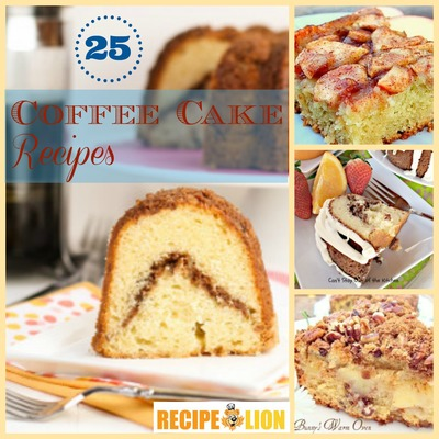 25 Best Coffee Cake Recipes
