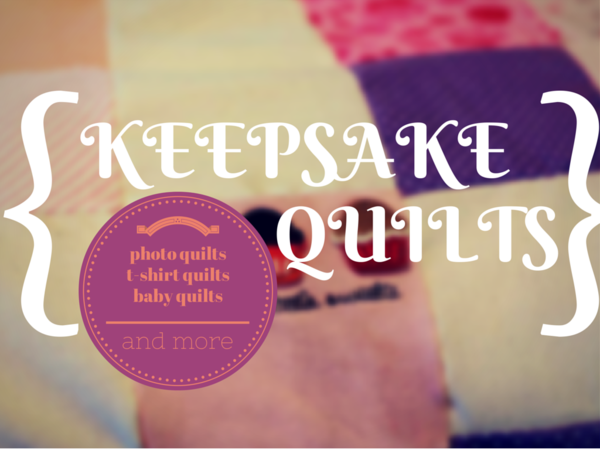 Keepsake Quilting: T-Shirt Quilts, Photo Quilts, and More Read more at http://www.favequilts.com/Miscellaneous-Quilt-Projects/Keepsake-Quilting-T-Shirt-Quilts-Photo-Quilts-and-More#qkWtDEQTdb7ADGGL.99