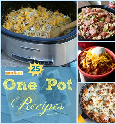 25 of Our Best One Pot Recipes