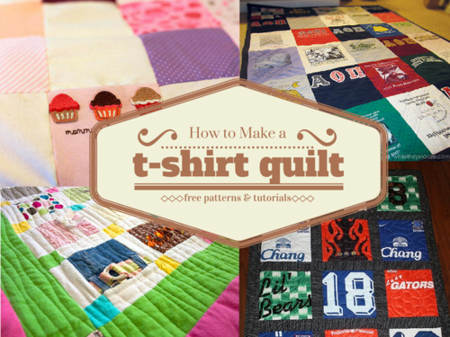 basic t shirt quilt instructions