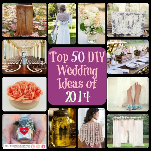 Wedding Gifts Ideas Diy Suggestions : Top 50 DIY Wedding Ideas of 2014: DIY Gifts, Decorations, Accessories ...