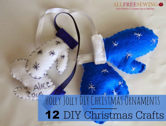 Homemade Christmas Decorations With Holly : Holly jolly diy christmas ornaments