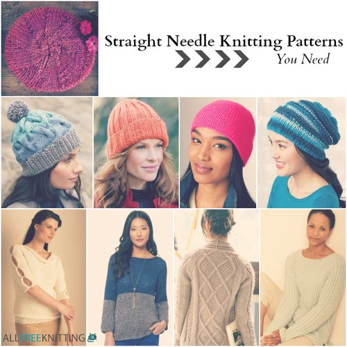 26 Straight Needle Knitting Patterns You Need ...