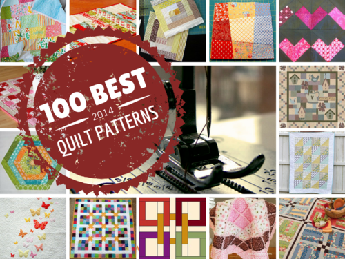 100 Best Projects on FaveQuilts in 2014