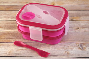 Smart Planet Collapsible Double-Decker Meal Kit