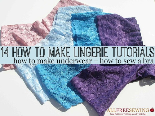 DIY Lingerie - How to make anything - Instructables