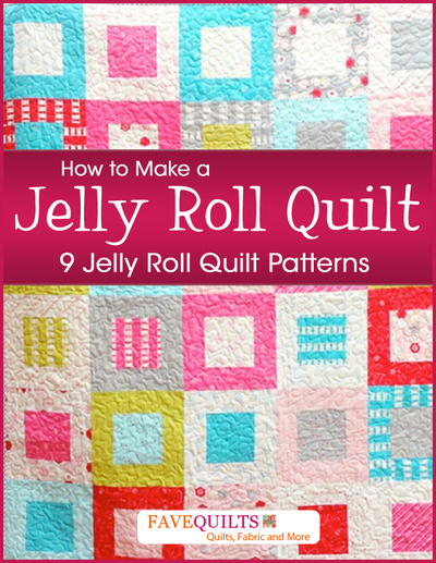 How to Make a Jelly Roll Quilt 9 Jelly Roll Quilt  : ebook2Large400ID 843422 from www.favequilts.com size 400 x 517 jpeg 274kB