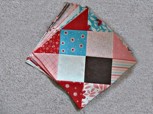 Disappearing 16 Patch Block