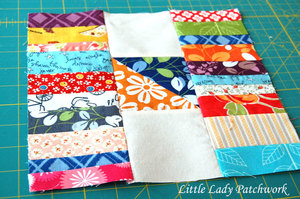 Scracks & Stacks of Scraps Quilt Block