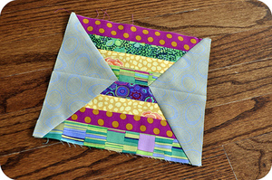 Sands of Time Quilt Block