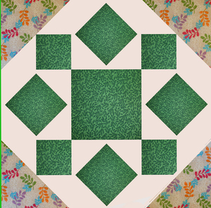 Summer Star Quilt Block