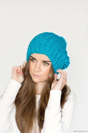 Blue Beret Crochet Pattern