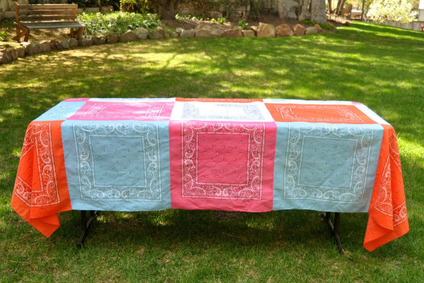 How To Make A Tablecloth 14 Diy Tablecloth Sewing