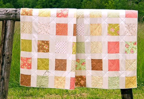 Nonstalgic Fat Quarter Quilt