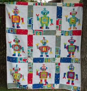 Robot Love Quilt