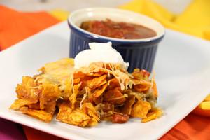 Cheesy Tex-Mex Dorito Casserole