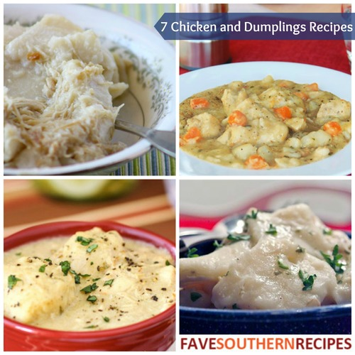 Chicken and Dumplings Recipes