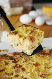 Overnight Sausage Egg Casserole