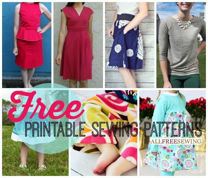 Printable Sewing Patterns
