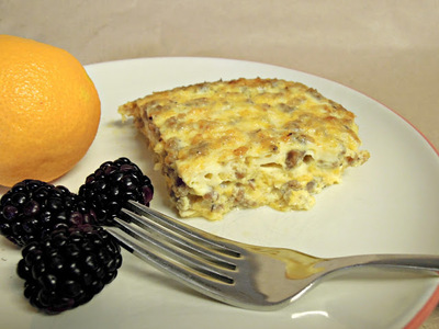 Easy Sauasge and Egg Breakfast Casserole