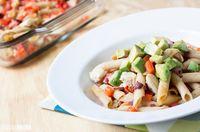 Skinny Chicken Bacado Casserole
