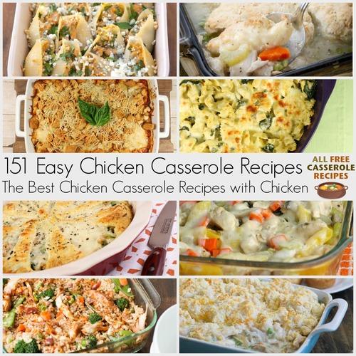 Casseroles Recipes: 151 Easy Chicken Casserole Recipes: The Best Casserole