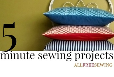 5 Minute Sewing Projects