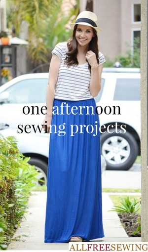 One Afternoon Sewing Project Ideas