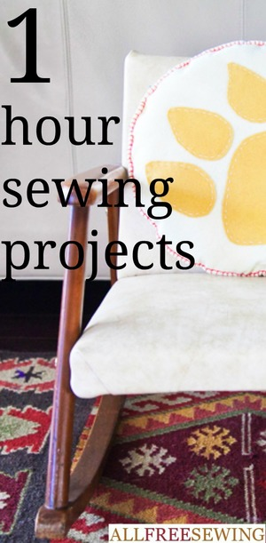 One Hour Sewing Projects