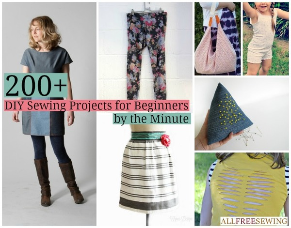 DIY Sewing Projects for Beginners by the Minute