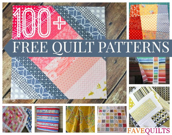 100 Free Quilt Patterns For Your Home Favequilts Com