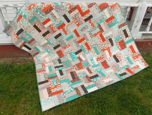 Rail fence quilt patterns blocks