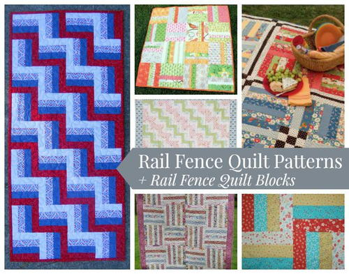 Rail Rence Quilt Patterns