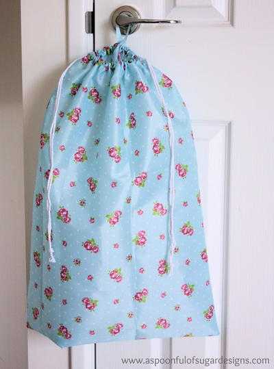 How To Make A Drawstring Bag Tutorials And Drawstring Bag