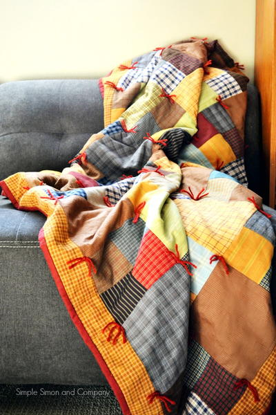 Mountain Lodge Flannel Quilt Pattern