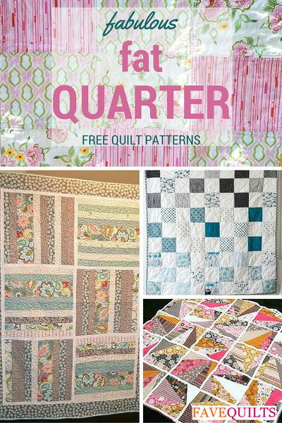 10 Fantastic Fat Quarter Quilt Patterns Favequilts Com