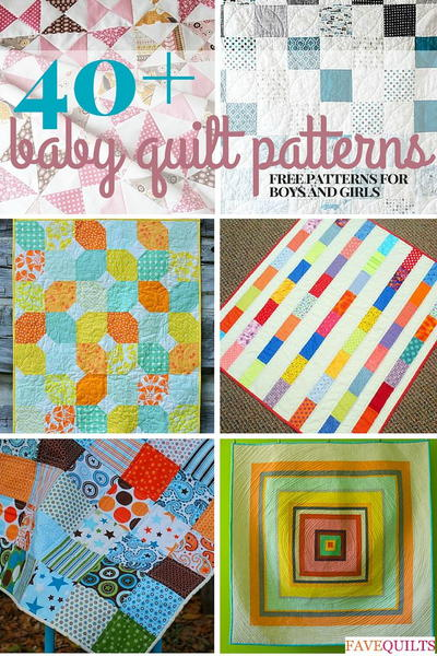 Free Pieced Baby Quilt Patterns : 40+ Free Baby Quilt Patterns FaveQuilts.com